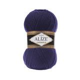 Пряжа Alize Lanagold 388 пурпурный