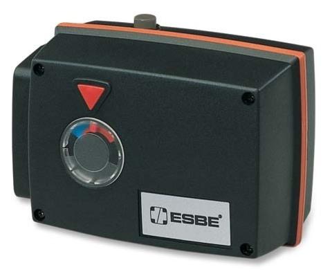 Привод поворотный Esbe 95-2 арт. 12052000 (15нм,1мин,120с) 3-хточечный