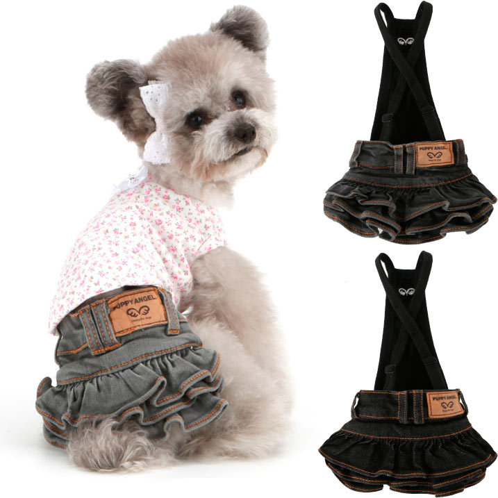 джинсовые юбки для собак