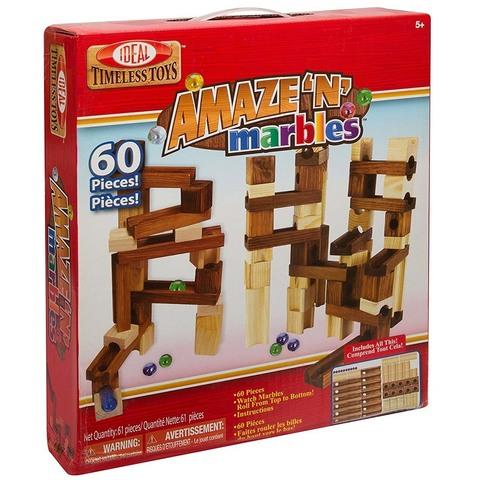 Классический деревянный Конструктор-головоломка из 60 деталей