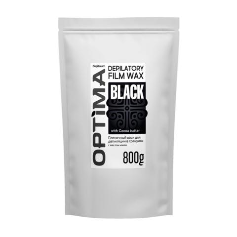 Пленочный горячий воск Depiltouch Optima BLACK, 800 г.