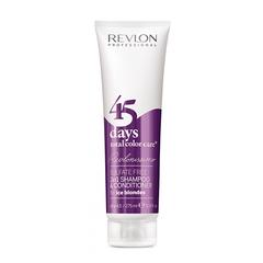 Revlon Professional Shampoo&Conditioner Ice Blondes - Шампунь-кондиционер для пепельных блондированных оттенков