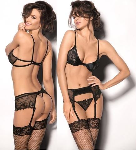 Комплект сексуального нижнего белья Aquilo (BS)