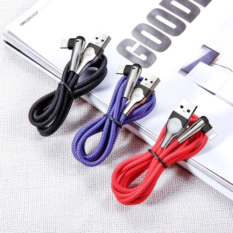 Кабель Baseus sharp-bird mobile game cable USB For iP 1.5A 2M Red