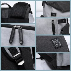 Рюкзак-торба молодёжный для города КАКА 2238 тёмно-серый