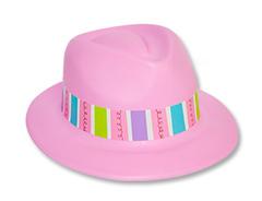 """Пластиковая шляпа """"Сладкий праздник"""""""