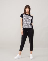 Блузка с одним плечом В-022
