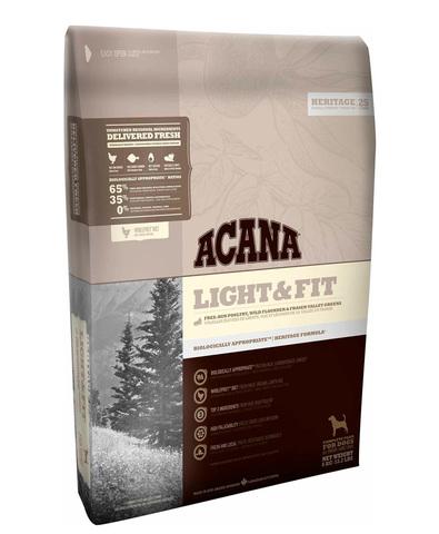 Acana Heritage Light & Fit сухой корм для собак облегченный 2 кг