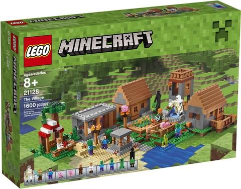 LEGO Minecraft: Деревня 21128 — The Village — Лего Майнкрафт