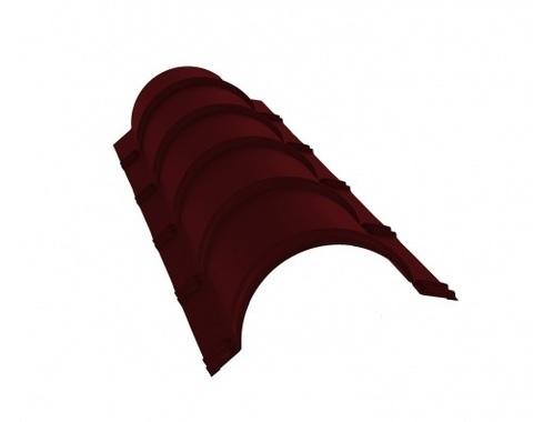 Планка конька круглого R120 Полиэстер RAL 3005 1250 мм