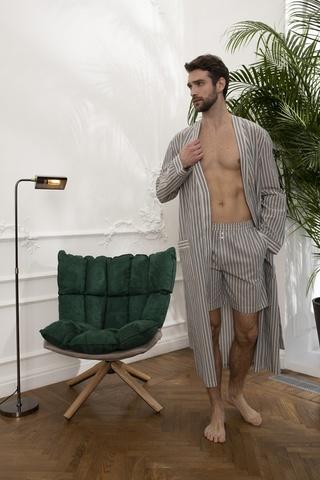 Мужской облегченный халат 61336  Laete
