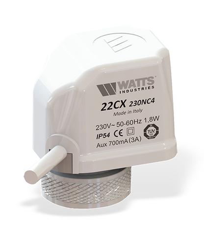 Сервопривод Watts 22CX230NA2 (220В) нормально открытый арт. 10029674