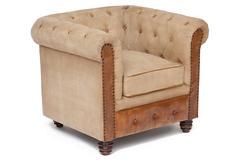 Кресло Secret De Maison Манчестер (MANCHESTER) (mod. M128 S) — Античный темный