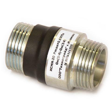 Изолирующая муфта (вставка) ИСНН-25 наружная-наружная резьба ду25 (1