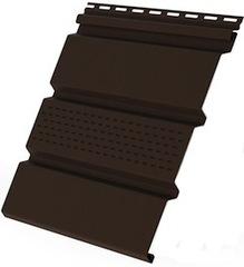 Софит коричневый VOX (с перфорацией)