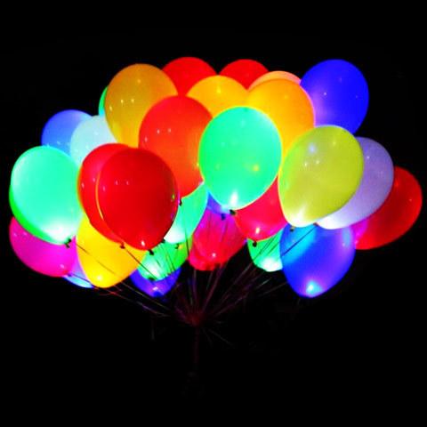 Летающий Букет из Светящихся LED шаров