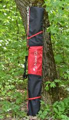 Чехол для беговых лыж Nordski Black-Red на 3 пары до 210 см