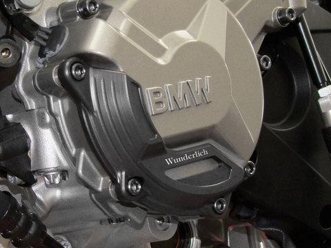 Защита двигателя левая BMW S 1000 R/RR титан