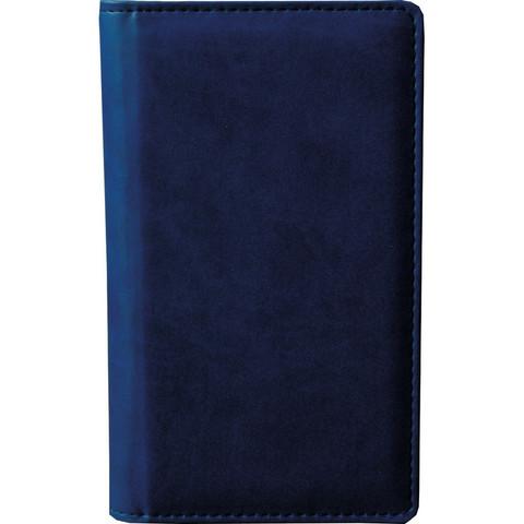 Визитница настольная Attache Сиам искусственная кожа на 96 визиток синяя
