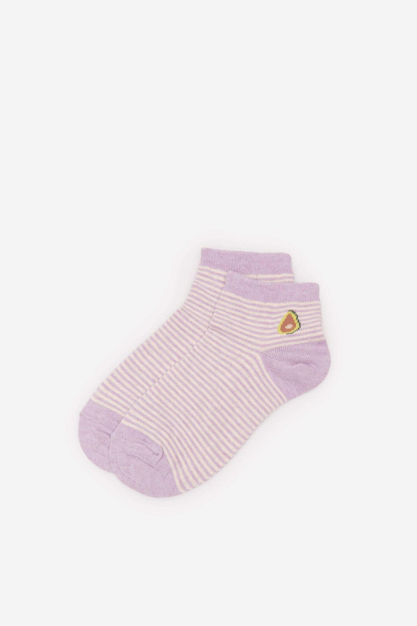 Короткі шкарпетки «Фрукти»