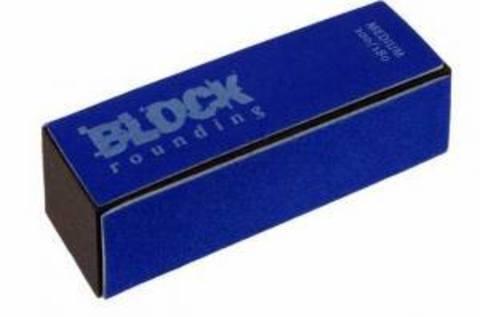 Пилочка BLOCK полировочная синяя