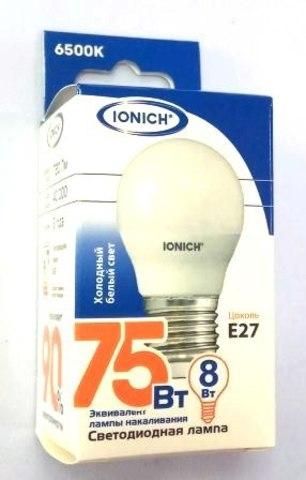 Лампа светодиодная IONICH