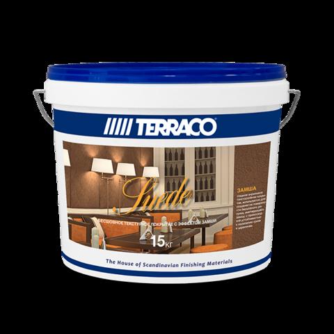 Terraco Suede/Террако Замша декоративное покрытие на акриловой основе с текстурой типа