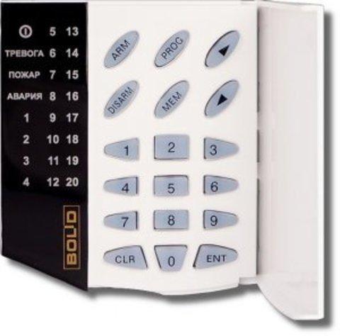 Пульт контроля и управления светодиодный С2000-КС