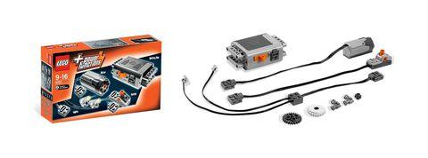 LEGO Technic: Набор с мотором Power Functions 8293 — Power Functions Motor Set — Лего Техник Силовые функции Набор с мотором
