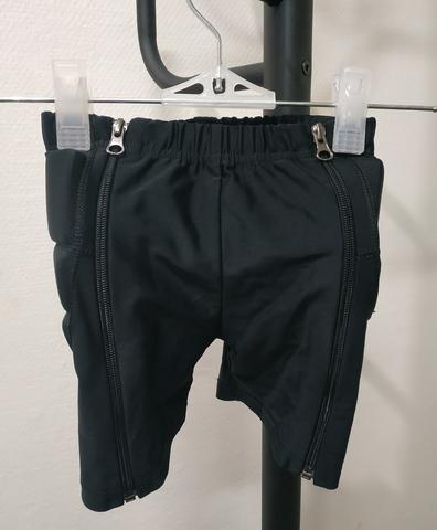 Защитные шорты на молнии, б/у, размер 98-116 см