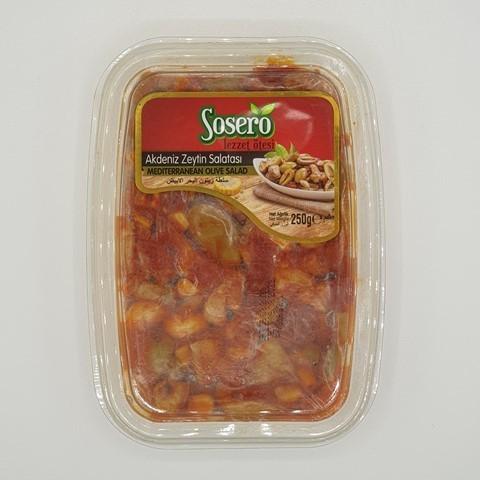 Оливковый салат средиземноморский  SOSERO, 250 гр
