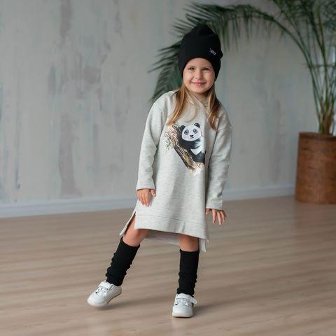 Платье-худи с капюшоном