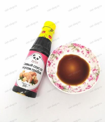 Вьетнамский соус соевый со вкусом грибов, Ями-Ями, 500 гр.