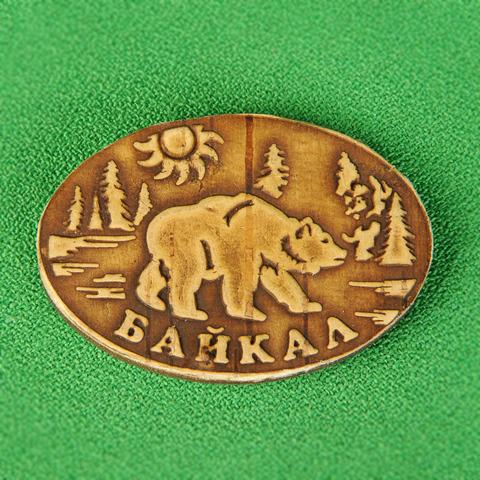 Магнит медведь Байкала