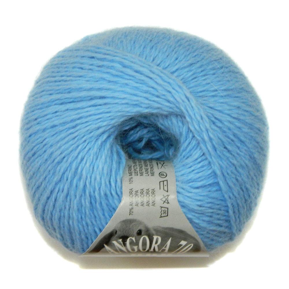 Пряжа BBB Filati Angora 70 664 голубой