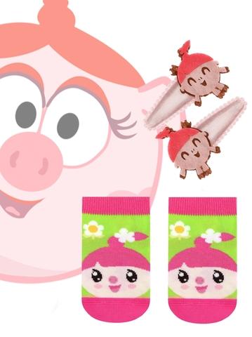 Детские носки Малышарики 17С-26СП (с заколками для волос) рис. 261 Conte Kids