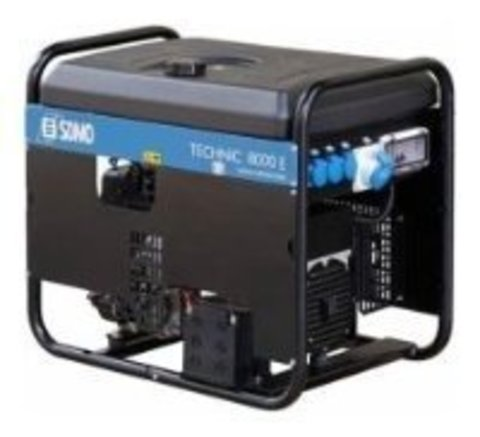 Кожух для бензинового генератора SDMO Technic 7000E AVR C (5800 Вт)