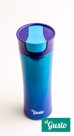 Термокружка El Gusto Gradient (0,47 литра), синяя