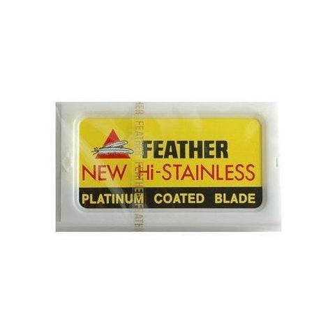 Лезвия для бритья Feather 10 шт.