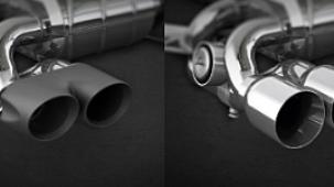 Выхлопная система Capristo для BMW M3 F80