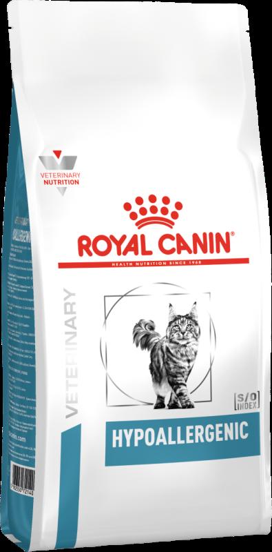 Сухой корм Корм для кошек, Royal Canin Hypoallergenic DR25 Feline, при пищевой аллергии/непереносимости 722005.png