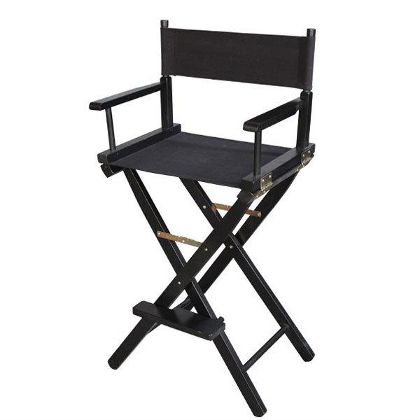 Разборный стул визажиста из дерева фото