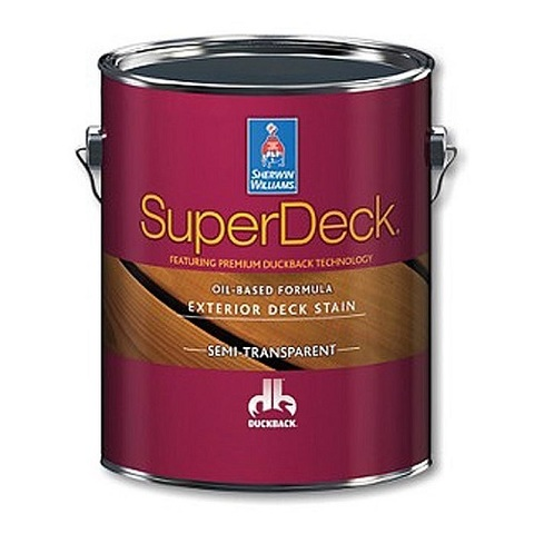 SUPERDECK EXTERIOR OIL-BASED SEMI-TRANSPARENT STAIN