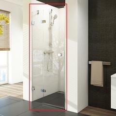 Дверь душевая распашная в нишу 100х195 см левая Ravak Brilliant BSD2-100 B-L 0ULABA00Z1 фото
