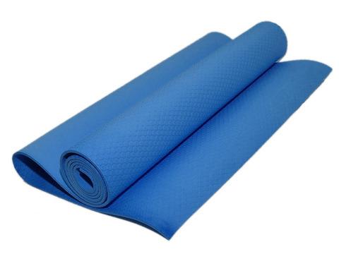 Коврик гимнастический. Цвет: голубой. КВ6505-Г
