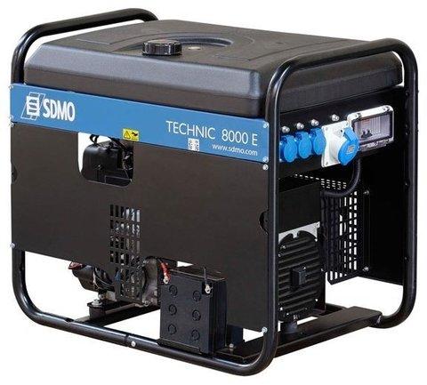 Кожух для бензинового генератора SDMO Technic 8000E (6300 Вт)