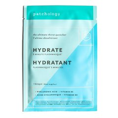 Patchology Маска для увлажнения кожи FlashMasque® Hydrate 5 Minute Sheet Mask