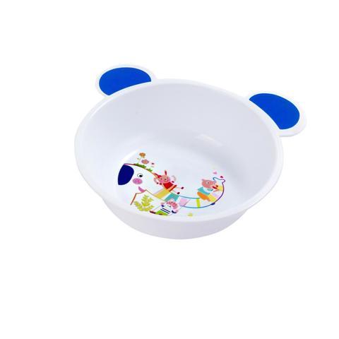 Canpol Babies тарелка c цветными ушками (белая)