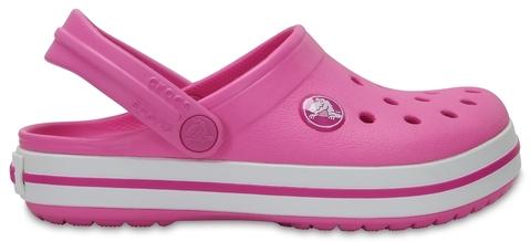 Детские сабо Crocs Crocband Clog K Party/Pink