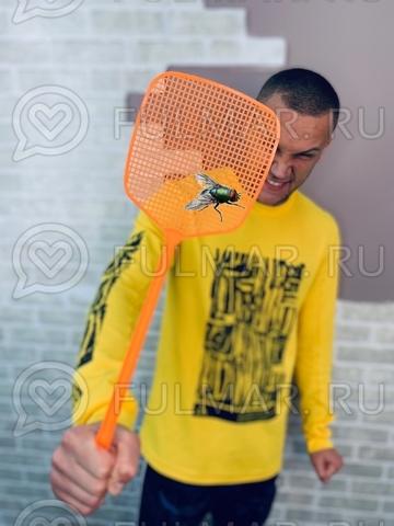 Мухобойка оранжевая